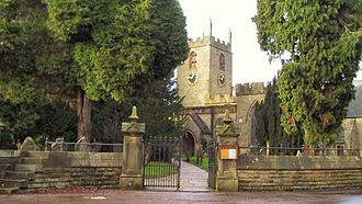 Darley Dale - Image: St.Helens Church, Darley Dale cropped 87882