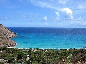 Saint Barthélemy - Coastline of St. Barts
