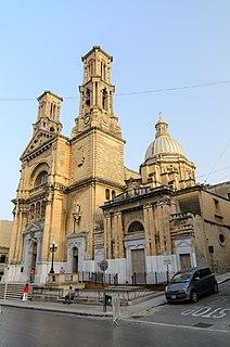 Parish Church of St. Cajetan, Ħamrun Church in Ħamrun, Malta