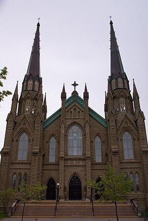 St. Dunstan's Basilica - Image: St. Dunstan's Basilica, Charlottetown