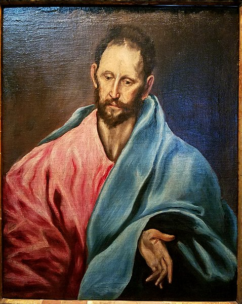 File:St. James the Less, by El Greco, c. 1595, oil on canvas - Hyde Collection - Glens Falls, NY - 20180224 121920.jpg