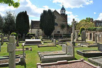 Glyn Philpot - St. Peter's Churchyard, Petersham