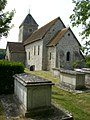 St Andrew, Bishopstone, from east.jpg