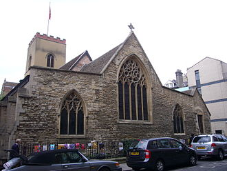 St Edward King and Martyr, Cambridge - Image: St Edward King and Martyr, Cambridge (exterior)