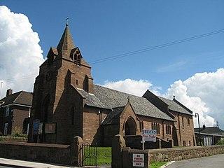 St John the Evangelists Church, Weston Church in Cheshire, England
