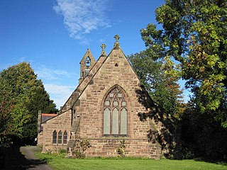 St Lukes Church, Dunham on the Hill Church in Cheshire, England