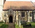 St Mary, Hertingfordbury, Herts - Porch - geograph.org.uk - 363041.jpg