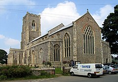 St Mary, Worstead, Norfolk - geograph.org.uk - 318840.jpg