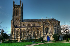 St Marys Parish Church, Andover, Hampshire-3Dec2009.jpg