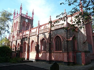 St Michael's Hamlet - Image: St Michael's View from South East Aigburth