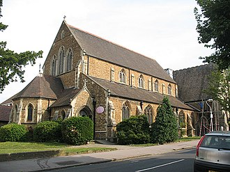 Thornton Heath - St Paul's Church, Thornton Heath