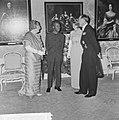 Staatsbezoek president Nyerere van Tanzania, gala-diner op Huis ten Bosch v.l.n., Bestanddeelnr 917-6735.jpg