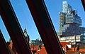 Stadtbibliothek Hannover Blick über die Dächer auf Norddeutsche Landesbank und Neues Rathaus.jpg