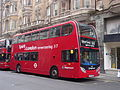Stagecoach London 19000 (Spirit of London) on Route 55, Oxford Circus.jpg