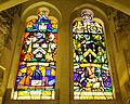 Stained glass windows in Crypt, Guildhall, City of London (11).jpg