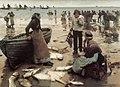 Stanhope Forbes - A Fish Sale on a Cornish Beach.jpg