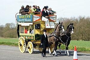 Solomon Andrews (businessman) - Star Omnibus Company horse bus at the 2010 Cobham bus rally
