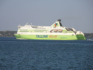 Star departing Port of Tallinn 25 May 2012.JPG