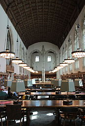 Starr Reading Room east