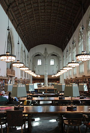 Sterling Memorial Library - Starr Reading Room