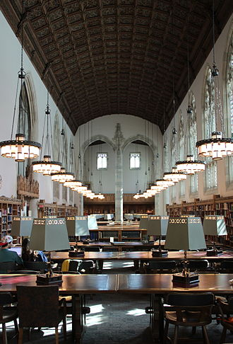 Sterling Memorial Library - Starr Reading Room