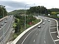 Start, End of Western Freeway at Toowong, Brisbane 01.jpg