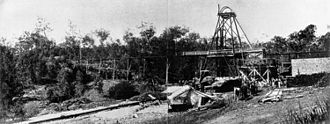Mount Chalmers, Queensland - Fitzroy Copper Mine, Mount Chalmers, 1907