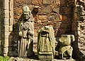 Statues in Elgin Cathedral.jpg