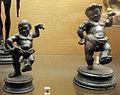 Statuette in bronzo di nanerottoli danzanti, da ercolano, I sec. dc, 27734 e -35.JPG