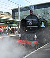 Steam locomotive 60163 Tornado Carlisle Cumbrian Mountain Tornado 10 Oct 2009 pic 6.jpg