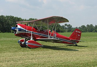 Stearman 4 - Restored Stearman 4-CM-1 Junior Speedmail