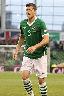 Stephen Ward (footballer) Irish association football player