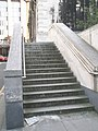 Steps up to St Nicholas Cole Abbey in Distaff Lane - geograph.org.uk - 967977.jpg