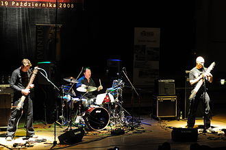 Stick Men (prog band) - Stick Men in 2008: Michael Bernier, Pat Mastelotto, Tony Levin