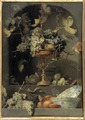 Still Life with Fruit Bowl in a Niche (Frans Snyders) - Nationalmuseum - 17643.tif