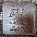 Stolperstein Bocholt Osterstraße 52 Bertold Löwenstein.jpg