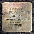 Stolperstein Choriner Str 81 (Mitte) Manes Schneider.jpg