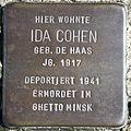 Stolperstein Delmenhorst - Ida Cohen (1917).JPG