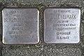Stolperstein Duisburg 500 Altstadt Fuldastraße 14 2 Stolpersteine.jpg