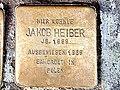 Stolperstein Heiber Jakob Muelheimer Str 81 Duisburg-Duissern.jpg