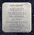 Stolperstein Klopstockstr 5 (Hansa) Adelheid Silberstein.jpg