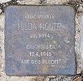 Stolperstein Landhausstr 3 (Wilmd) Hilda Monte.jpg