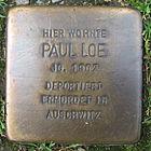 Stolperstein für Paul Loe