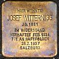 Stolperstein Salzburg, Josef Witternigg (Rainerstraße 2).jpg