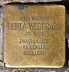 Stolperstein Weitlingstr 24 (Rumbg) Herta Wegfrass.jpg