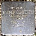 Stolpersteine Krefeld, Esther Gompertz (Uerdinger Straße 412).jpg