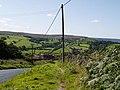 Stone-flagged footpath by Eller Gates - geograph.org.uk - 552773.jpg