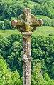 Stone Cross in settlement Sainte-Austremoine.jpg