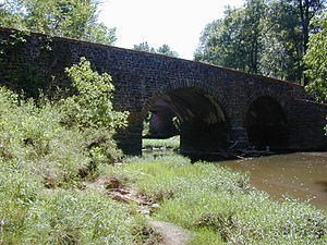 Stone Bridge across Bull Run