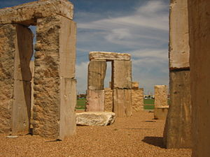 Stonehenge replica (Odessa, Texas) - Image: Stonehenge replica No. 3 Picture 1852